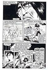 CONAN LE BARBARE  PLANCHE DE MONTAGE  AREDIT PIECE UNIQUE PAGE 8