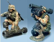 THE COLLECTORS SHOWCASE IRAQ WAR CS00233 U.S. 3RD INFANTRY DIV. JAVELIN TEAM MIB