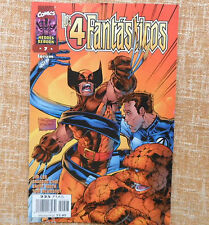 Comic, Los 4 Fantásticos, nº 7, Marvel Comic, Forum, Jim Lee, Brandon Choi, 1998