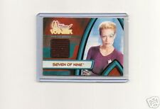 Star Trek Woman of Voyager  F1   7 of 9 costume card