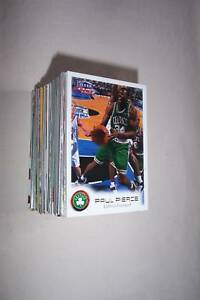 NBA 100 Assorted Basketball Trading Card Lot + Auto / Game Jersey