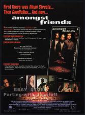 AMONGST FRIENDS__Original 1993 Trade print AD promo__MICHAEL SORVINO__Rob Weiss