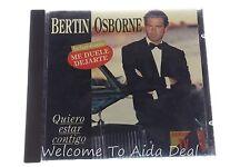 Quiero Estar Contigo by Bertin Osborne (CD-1993 DIVUCSA)