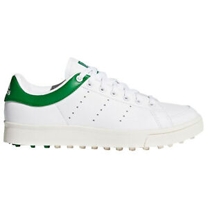 adidas Junior Boys Adicross Classic Golf Shoes Kids Leather Spikeless Trainers