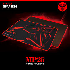 Fantech MP25 PC Laptop Gaming Mouse Mat Pad Speed Edition Black & Red Anti Slip