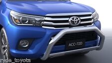 HILUX STAINLESS STEEL NUDGE BAR 9/15 ** TOYOTA GENUINE PARTS **