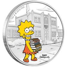 Tuvalu - 1 Dollar 2019 - Lisa Simpson™ - Die Simpsons™ (4.) - 1 Oz Silber PP
