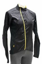 Mavic Men Cosmic Pro Lightweight Wind Rain Jacket Road MTB Bike Small Black NEW
