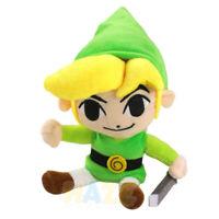 Anime Legend of Zelda Link Soft Stuffed Toy 25cm Plush Doll Kids Xmas Gifts
