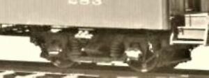 "HOn3 D&RGW Passenger Car Trucks 6pk(6 pair)narrow gauge 5'0""WB, MRGS kit # 5002A"