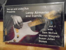 SEALED RARE OOP Leroy Airmaster & Friends CASSETTE TAPE blues INDEPENDENT 1980s