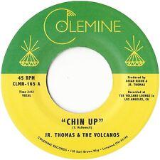 Jr. Thomas & The Volcanos - Chin Up - Colemine 45 - Reggae Rocksteady