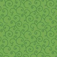 Maywood Studio Scroll Green BTY MAS8243-GG fabric