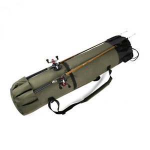 WATERPROOF CARP FISHING TACKLE ROD STORAGE CARRY HOLDALL BAG REEL LUGGAGE QUIVER