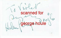 HELEN GAHAGAN DOUGLAS - SIGNED + PHOTOGRAPH - SHE -  PLUS MYSTERY SIGNATURE ?