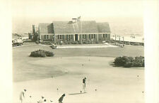 Early B &W Photo Postcard Of Golf Course In Connecticut Or Massachusetts