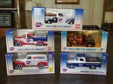 Carquest Liberty Classics Limited Edition Die Cast Truck Banks Series 1 - 5 NIB