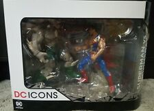 Superman vs Doomsday DC ICONS Death of Superman Deluxe Figure Set