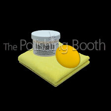 Poorboys Natty's White Paste Wax with Microfibre and Applicator