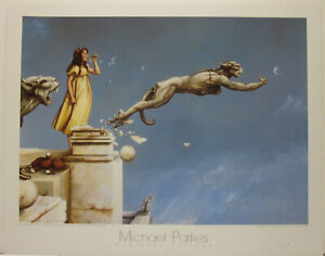 Gargoyles by Michael Parkes Open Edition Print