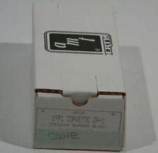 1991 MEDIUM QUASAR BLUE CORVETTE ZR-1 AMT/ERTL