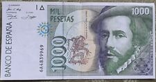 More details for 1000 peseta note, un-circulated commemorative note issued in 1992.