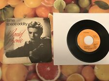 "David Bowie Fame / Space Oddity 7"" Ita 1975"