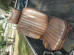 72-81 Mercedes 350 450 380 SLC right PASSENGER seat USED GREAT FRAME & HORSEHAIR