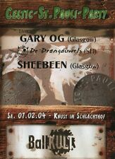 Irish rebel music,Celtic  St Pauli Party, Gary Og ,Shebeen,De Drangduwels DVD