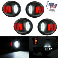 4Pcs RED LED License Plate Light For Ford F150 F250 F350 SMD Tube Tag Tail Lamp