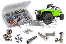 RC Screwz RCZAXI016  Axial SCX10 DeadBolt RTR Stainless Steel Screw Kit