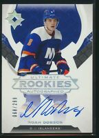 2019-20 Upper Deck Ultimate Collection Rookies Autographed Auto Noah Dobson b