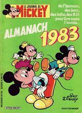 Almanach Le Journal De Mickey - Walt Disney - Eds. SNEF - 1983