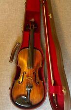 Alte Geige Violine Joseph Guarnerius fecit Cremonae anno 1740 IHS