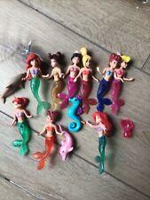 Disney little mermaid bath toys
