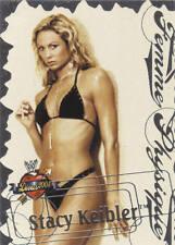 STACY KEIBLER 2004 Fleer WWE DIVAS 2005 FEMME PHYSIQUE Insert Card  #4FP
