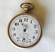 Pocket Watch, Not Working 21 Jewel Quality Time Swiss
