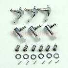 New Chrome Inline Guitar String Tuning Pegs Tuners Machine Head 6R Right