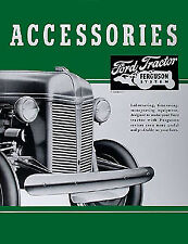 1939-1947 Ford 2N 9N Accessory Brochure Set Tractor Accys Dearborn Implements