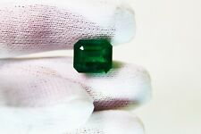 8.53 Ct  Fine Quality Natural Emerald Octagon Zambia UnTreated Loose GemStone