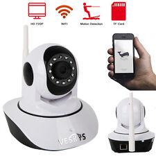 Wireless IP Camera Pan Tilt IR-CUT 720P Security Network CCTV WIFI Webcam APP