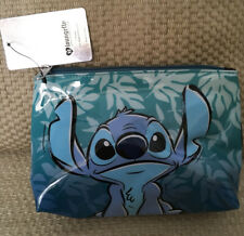 NWT LOUNGEFLY DISNEY STITCH HAWAII MAKE UP BAG COSMETIC POUCH
