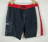 Quiksilver Mens Boardshorts Size XL 100% Nylon Aussie Summer Surf Brand