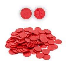 Novelty Fairground Coin Pusher Penny Falls Arcade Game Coins x100 (Red)