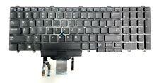 New Keyboard Dell Latitude E5550 E5570 US Backlit 0383D7 PK1313M4B00 SN7232BL