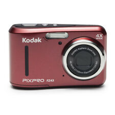 KODAK PIXPRO FZ43 Compact Digital Camera 16MP 4X Zoom HD 720P Red
