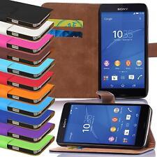 Téléphone Portable Housse pour Sony Xperia Etui Coque Couverture rabattable