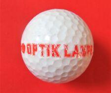 Pelota de golf con logo-Optik lámpara-golf logotipo pelota como recuerdo regalo talismán