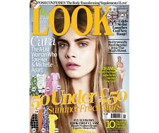 LOOK Magazine UK,Cara Delevingne,Victoria Beckham,Rihanna NEW