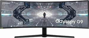 """Samsung Odyssey 49"""" in G9 Gaming Monitor 240hz G-Sync QLED Curved FREE SHIP RARE"""